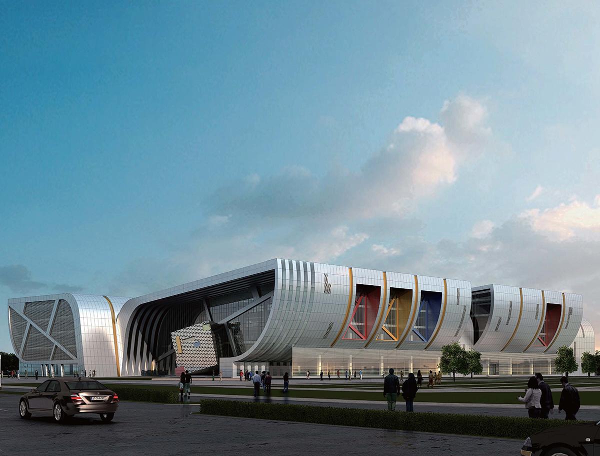 山西运城文化艺术中心