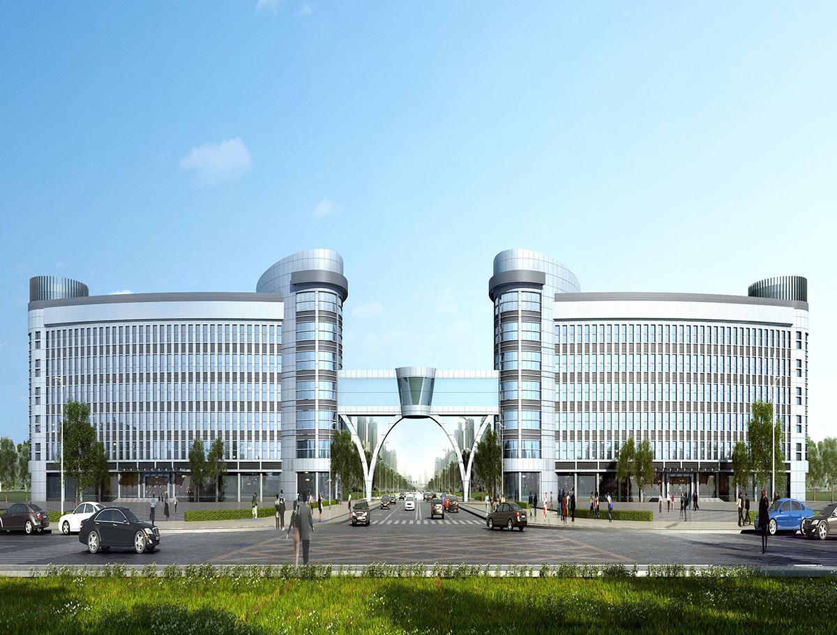 小蓝工业园区办公大楼