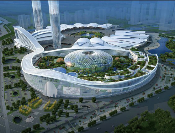 Wuhan new city international exhibition center